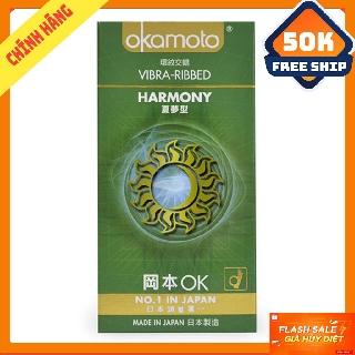 OKAMOTO HARMONY bao cao su Hộp 10 Cái