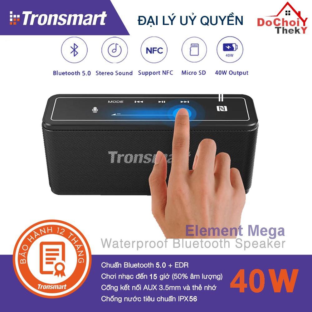 [Mã ELMS4 giảm 7% đơn 500K] Loa Bluetooth Tronsmart Element Mega Bluetooth 5.0 Công suất 40W - BẢO HÀNH 12 THÁNG