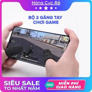 Bộ 2 găng tay chơi Game cho điện thoại Freeship Găng tay chống mồ hôi, cực nhạy, co giãn cực tốt-Shop Hàng Cực Rẻ thumbnail