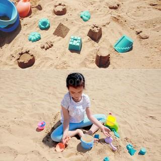 Tsm★16pcs/set Xiaomi Mijia BESTKIDS Beach Toys Sand Castle Maker Mode Shovel Buc