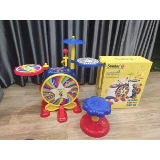 Bộ trống sáng tạo đa năng iq rất đa dạng cho bé,giúp bé học hỏi sáng tạo tư duy phát triển trí tuệ