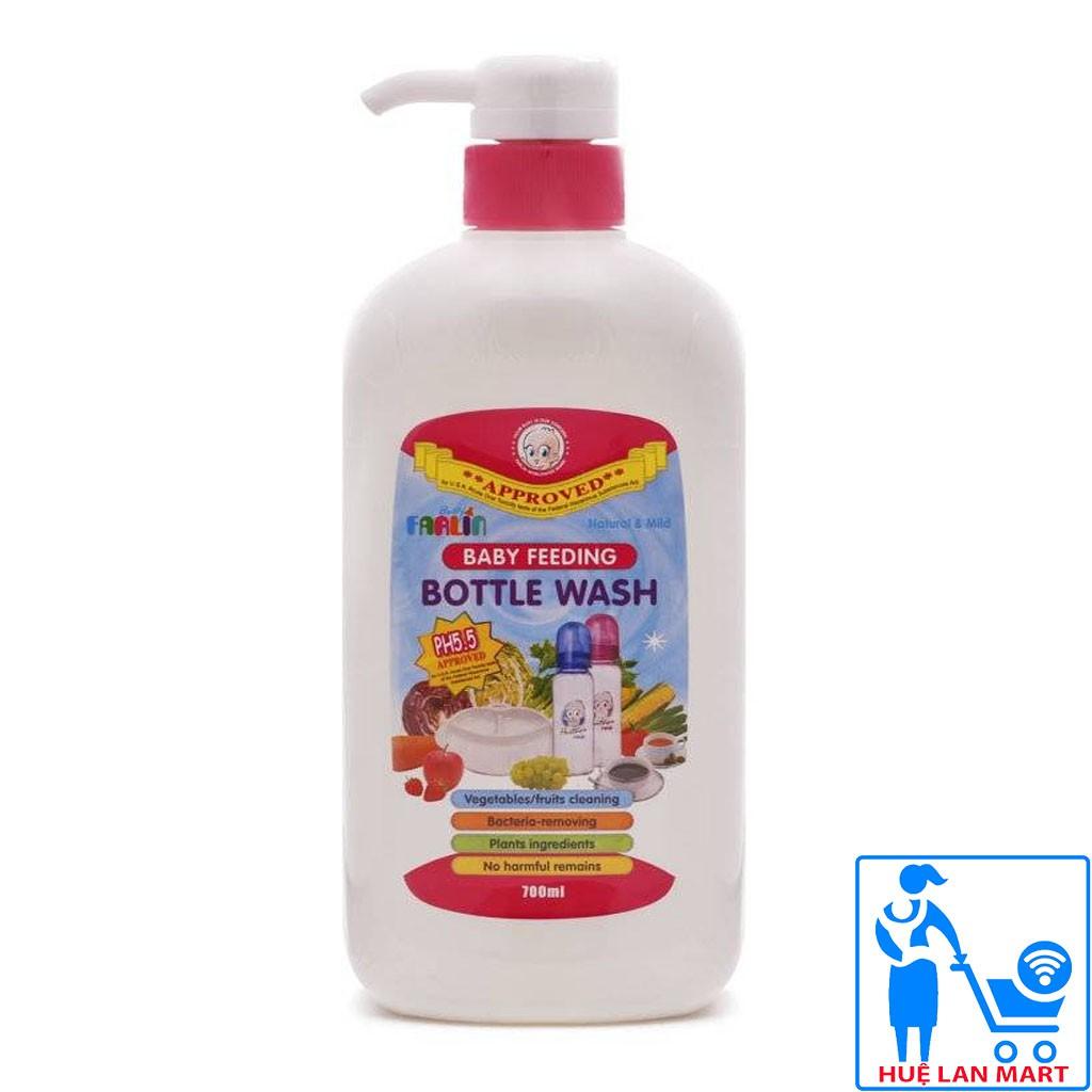 [CHÍNH HÃNG] Nước Rửa Bình Sữa và Rau Củ Quả Farlin BF-200 Chai 700ml