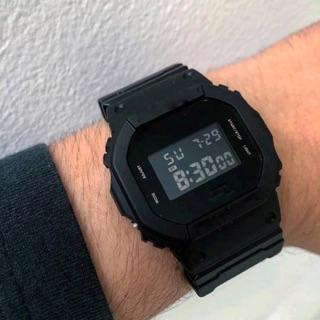 Đồng hồ thể thao nam nữ GS 5600 full black