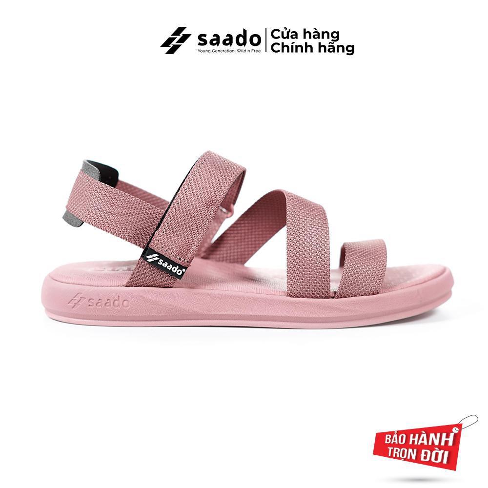 Giày Sandal SAADO - Bánh Bèo Mạnh Mẽ NN04 - Sandal Nữ