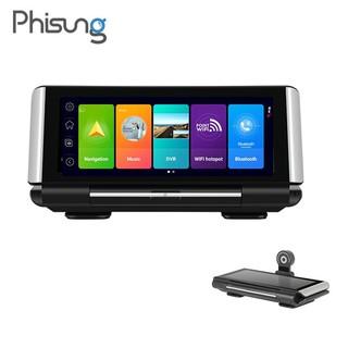 Camera hành trình cao cấp thương hiệu Phisung K7 đặt taplo ô tô 4G, wifi, 7 inch, cam lùi - Hàng Nhập Khẩu Chính Hãng