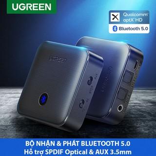 Bộ Nhận Và Phát Bluetooth 5.0 Hỗ Trợ APTX Ugreen 70158 Chính Hãng