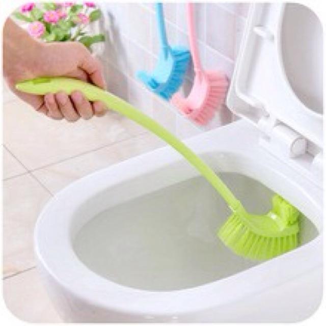 Chổi cọ toilet 2 đầu siêu sạch