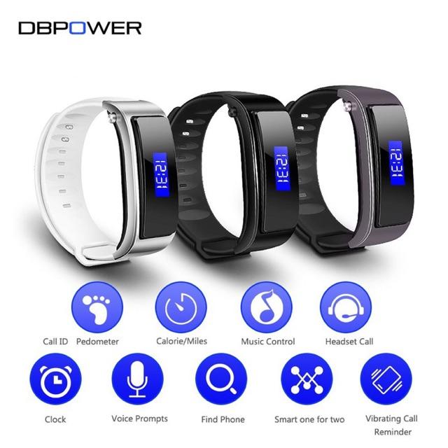 [SALE 10%] Đồng hồ kiêm tai nghe bluetooth FX-3 - vòng đeo tay thông minh