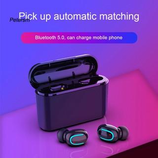 Bộ tai nghe thể thao U8 TWS bluetooth 5.0 không dây kèm hộp sạc và phụ kiện tiện dụng