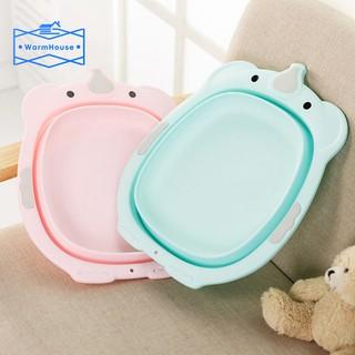Children Folding Washbasin Baby Ass Wash Portable Baby Washing Basin Shatter Proof Bathtub