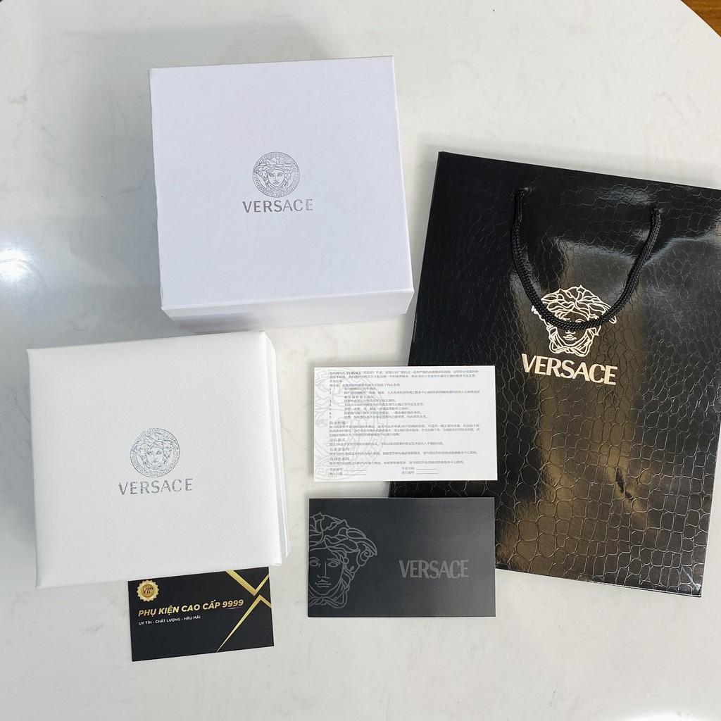 Hộp đựng đồng hồ VersaceVersace, đi kèm tag sổ thẻ cao cấp trangmoom106