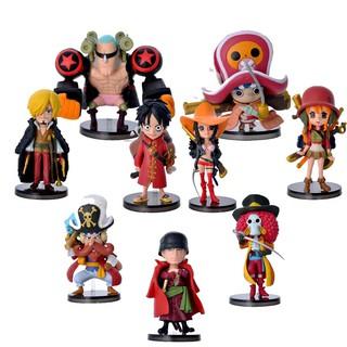 [Nhập TOYAPR10K giảm ngay 10K]Combo bộ 9 mô hình One Piece – Team Luffy bản đẹp cực chất
