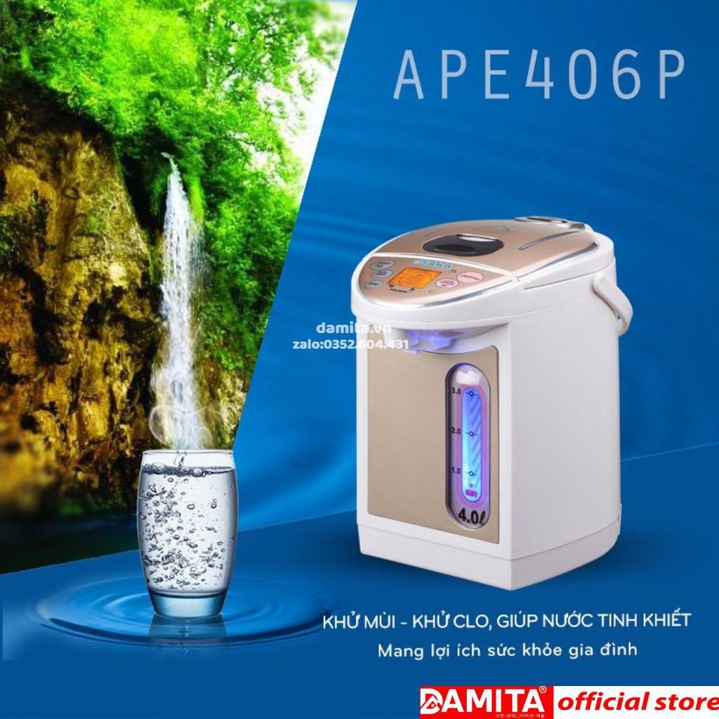 Bình thủy điện Osaka APE-406P - 4 lít - Bình đun siêu tốc