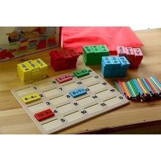 🎲 Đồ chơi Domino toán học #135k 🔷 Làm từ chất liệu gỗ cao cấp an toàn với sức khỏe của bé 🔷 Trọn bộ gồm một bảng gỗ