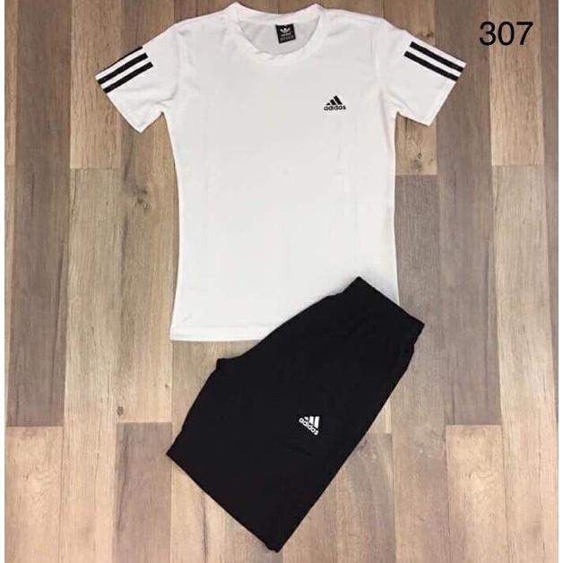Bộ quần áo thể thao cho nam mùa hè cực đẹp