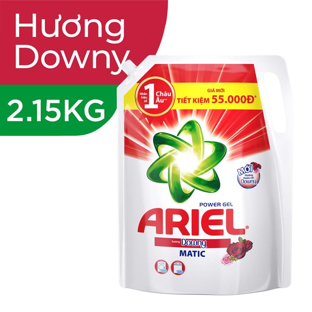 Hình ảnh [HCPGSBD - 15% tối đa 50K đơn 199K ]Ariel Matic nước giặt Túi 2.15kg-1