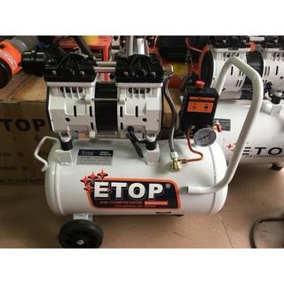 Máy nén khí sạch giảm âm không dầu ETOP 30L
