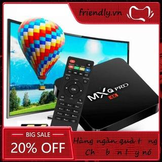 1000 Channels Smart TV Box Android MxqPro RK3229 Android 7.1K 1g + 8g Smart TV Box Amlogic 4-core Media for EU US AU UK