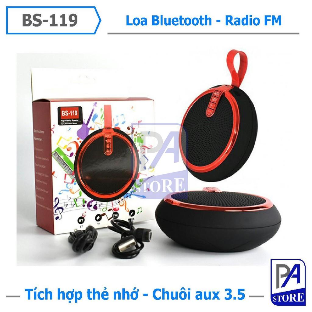 Loa Bluetooth Mini Phong Cách, Âm Thanh Siêu Chuẩn, BS-119