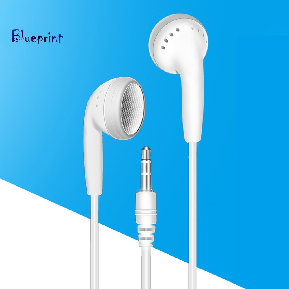 ☞BPUniversal Candy Color 3.5mm Plug In-ear Wired Earphones for Phone MP3 Laptop