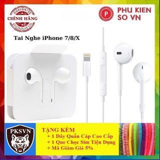 Tai Nghe Iphone XCAO CẤPTai Nghe Zin Cho Iphone 7/8/X/XSMAX/11PROMAX - Bảo Hành 12 Tháng