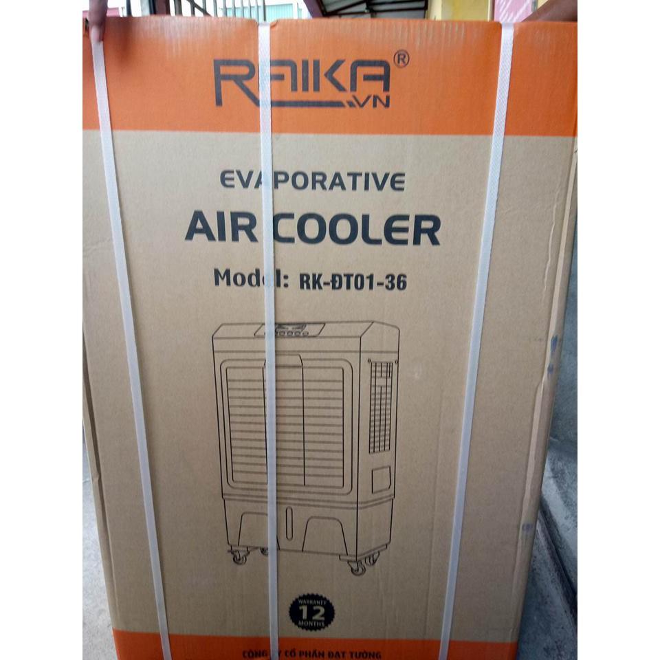 [ELPHATLOC giảm 8% tối đa 2TR] Quạt điều hòa làm mát không khí RAIKA RK ĐT 01-36 có điều khiển giá bao nhiêu?