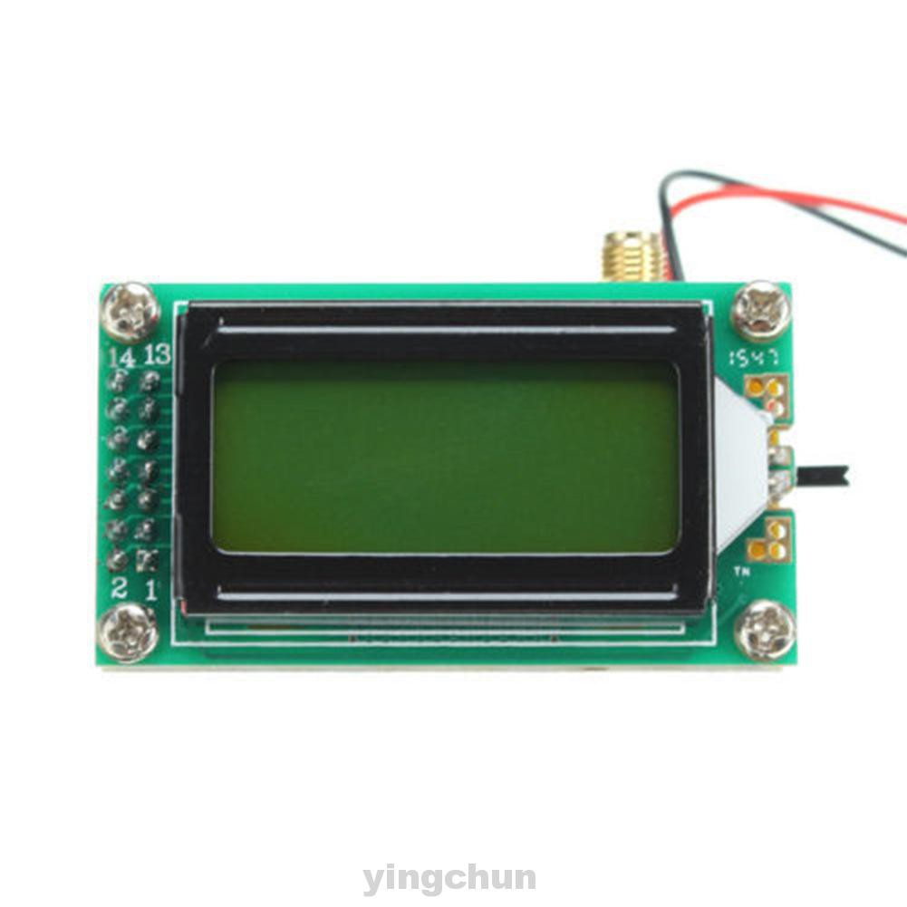 1~500 MHz Wide Range Sensitivity High Accuracy LCD Display RF Meter Test For Ham Radio Frequency Counter