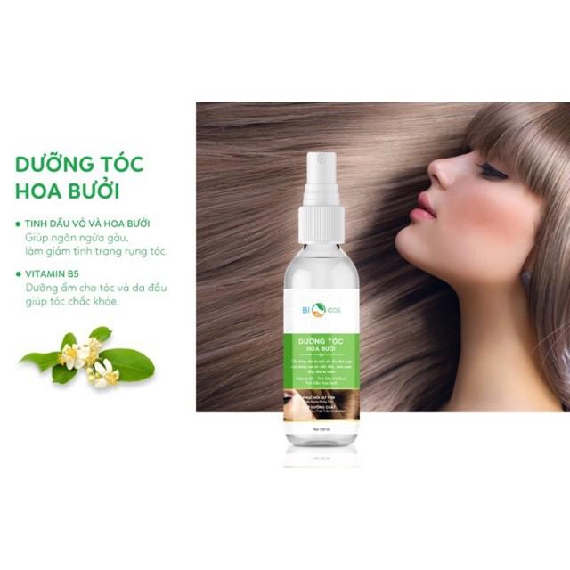 Xịt dưỡng tóc hoa bưởi biocos thumbnail