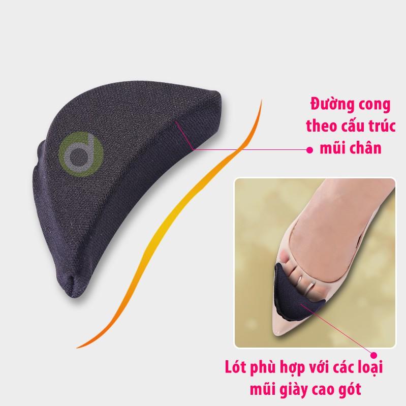 Lót mũi giày cao gót đệm êm ngón chân dùng mang giày cao gót, giày bít mũi, giày búp bê PK38
