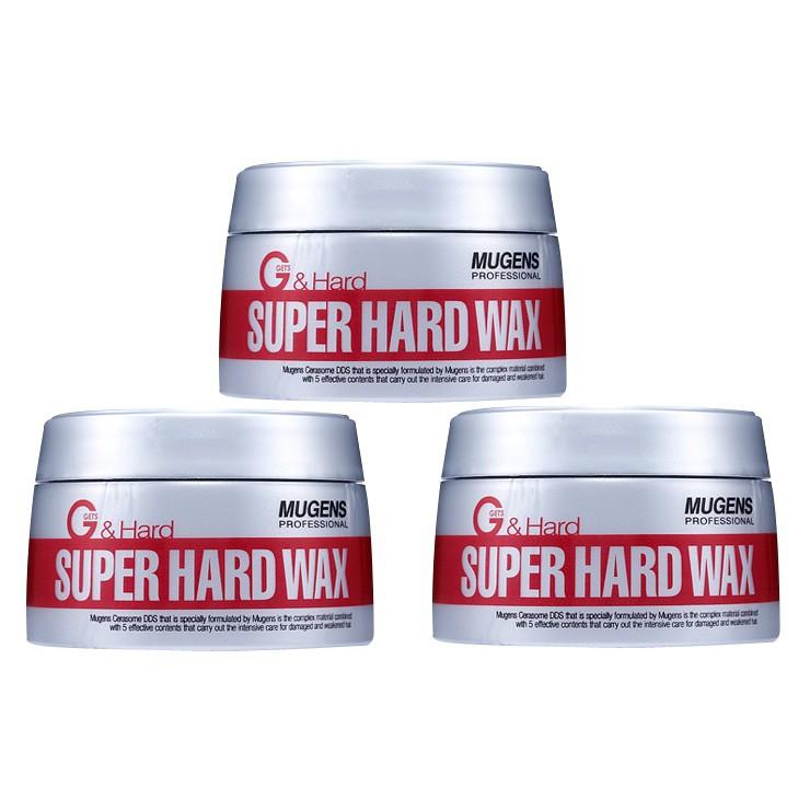 (hàng chính hãng) Sáp Vuốt Tóc Siêu Cứng Mugens Super Hard Wax Sản Phẩm đặc biệt cho tóc nam tạo kiểu + giá rẻ