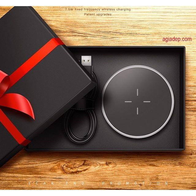 Đế sạc điện thoại không dây wireless (Chuẩn QI) sạc nhanh cho iPhone 8, X, Samsung, v.v. - 3035409 , 1155676253 , 322_1155676253 , 600000 , De-sac-dien-thoai-khong-day-wireless-Chuan-QI-sac-nhanh-cho-iPhone-8-X-Samsung-v.v.-322_1155676253 , shopee.vn , Đế sạc điện thoại không dây wireless (Chuẩn QI) sạc nhanh cho iPhone 8, X, Samsung, v.v.