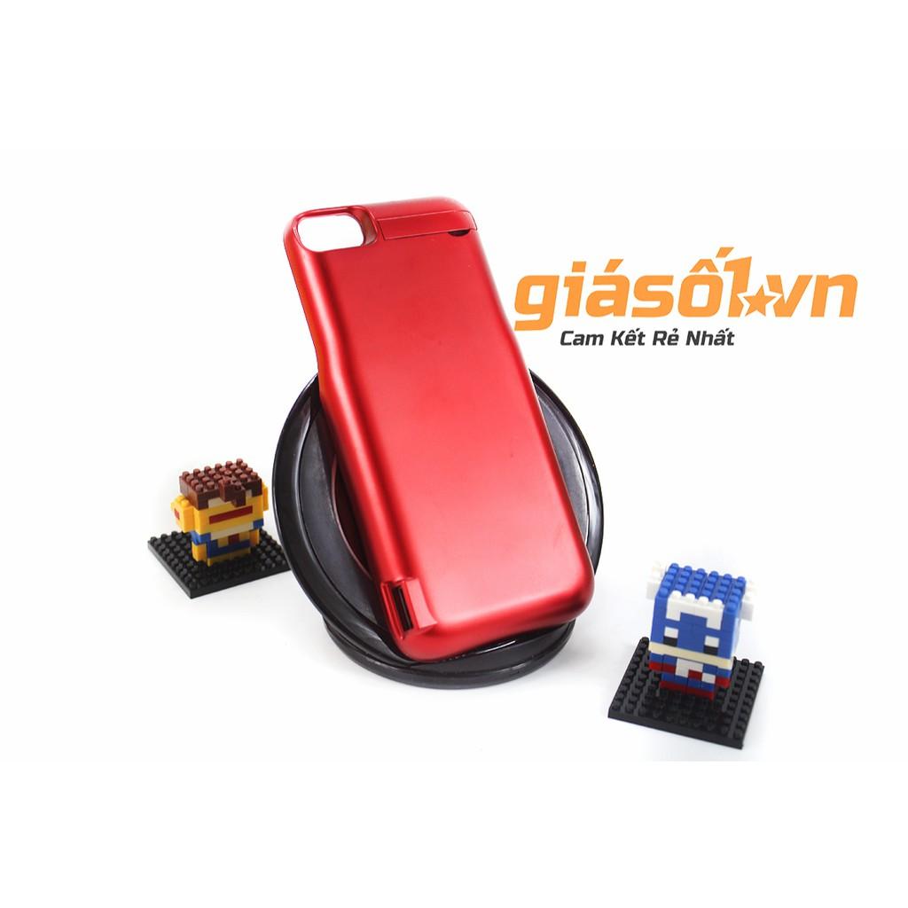 Ốp lưng kiêm sạc dự phòng cho Iphone 6/7 - JLW 5500 mAh Đỏ
