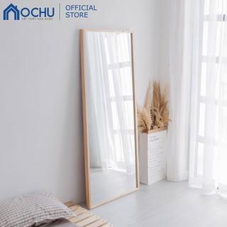 [Mã HLSNVV1212 giảm 15% đơn 99K] Gương Đứng Soi Toàn Thân Khung Gỗ OCHU - Mirror L - Natural thumbnail