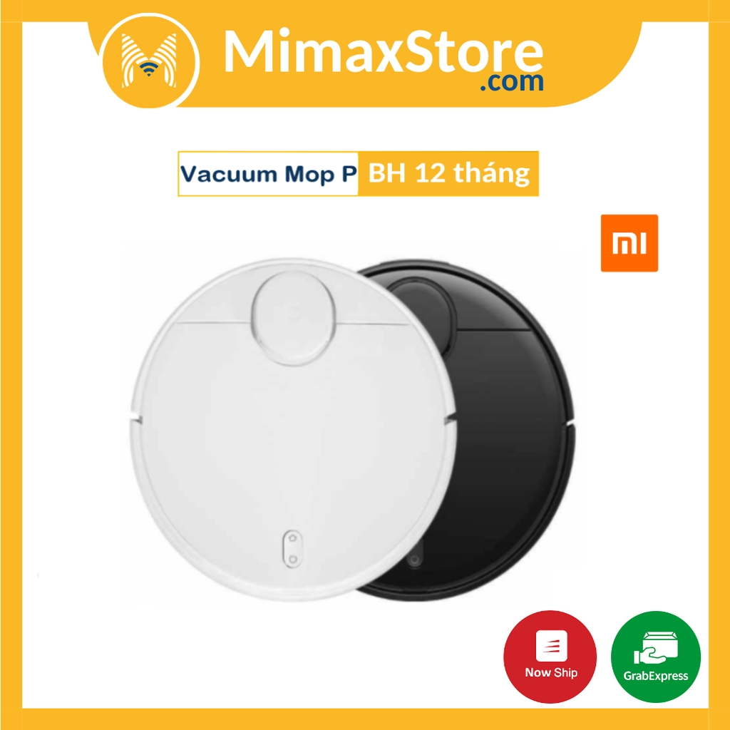 Robot Hút Bụi Xiaomi Mi Robot Vacuum Mop P - Bản Quốc Tế - Hàng Chính Hãng - Phân Phối Bởi DIGIWORLD