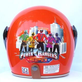 Mũ bảo hiểm NTMAX 3/4 trẻ em có kính chắn gió (6-14 tuổi) tem hoạt hình siêu cute