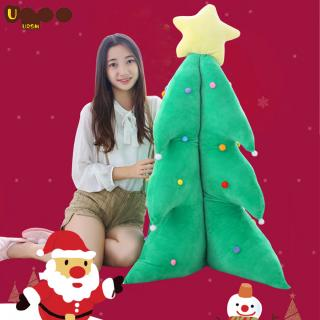 Christmas Tree Stuffed Plush Toys Soft PP Cotton Padded Decoration Toys Girls Christmas Gifts