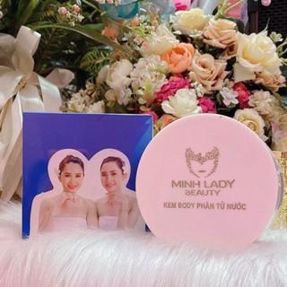 Kem body phân tử nước Minh Lady Beauty, 200gr dùng hơn 5 tháng , siêu tiết kiệm