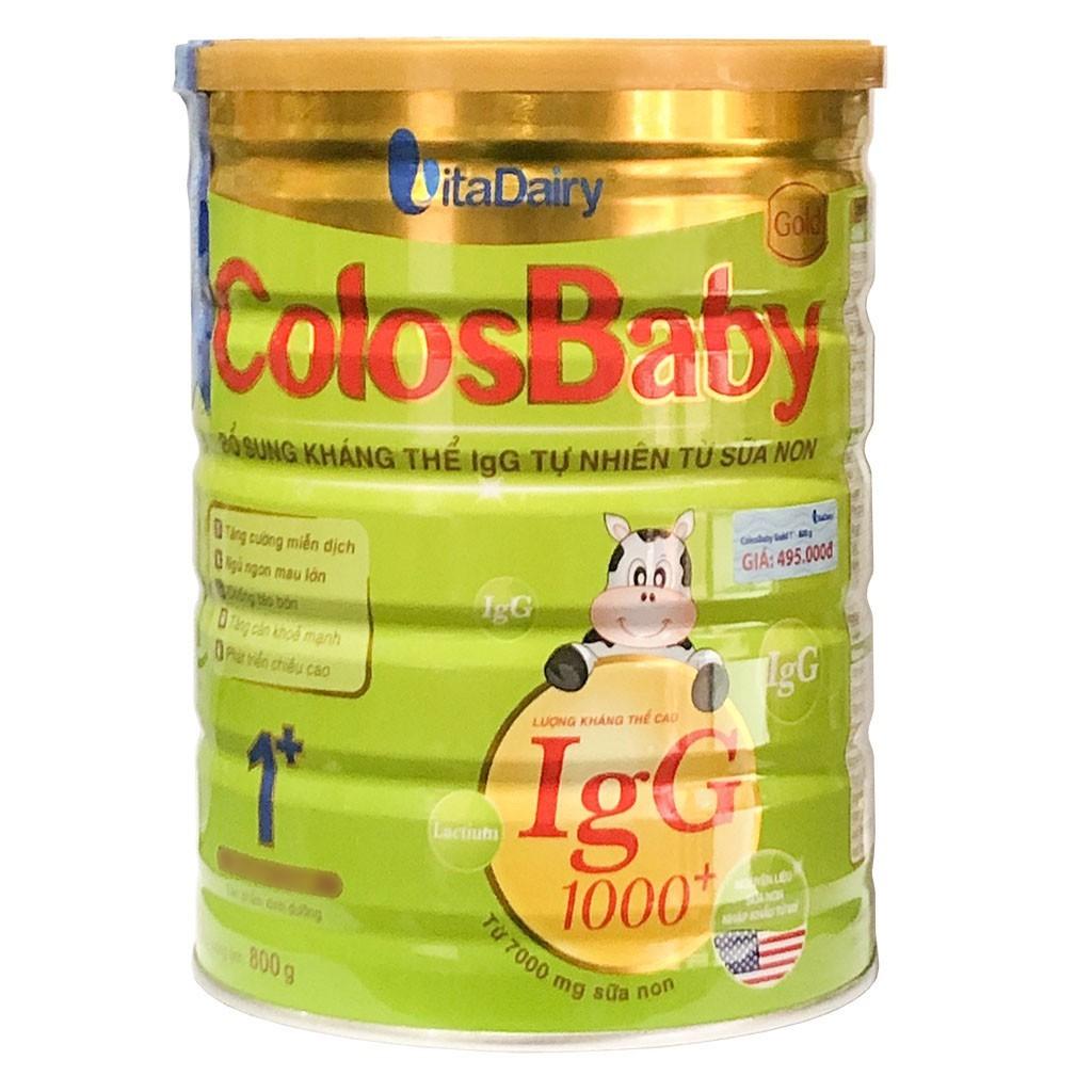 [CHÍNH HÃNG] Sữa ColosBaby Gold 1+ hộp 800g