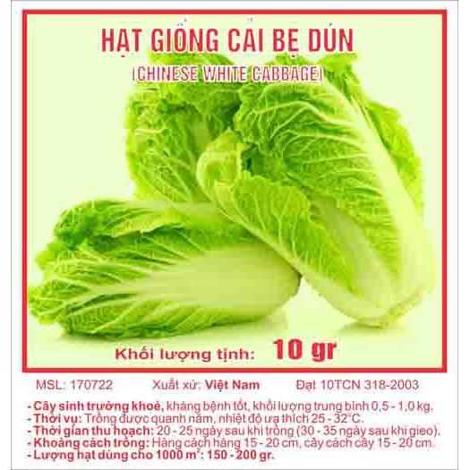 Hạt giống rau cải bẹ dún - 3003945 , 1002182542 , 322_1002182542 , 17000 , Hat-giong-rau-cai-be-dun-322_1002182542 , shopee.vn , Hạt giống rau cải bẹ dún