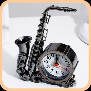Đồng hồ trang trí mô hình Saxophone phong cách cổ điển cực xinh - Phụ kiện decor, trang trí nhà đẹp độc lạ