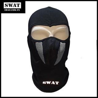 Khăn Ninja Trùm Đầu SWAT X2 Màu Trắng