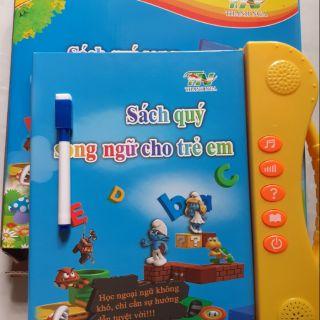 Sách nói song ngữ anh – Việt thông minh cho trẻ em