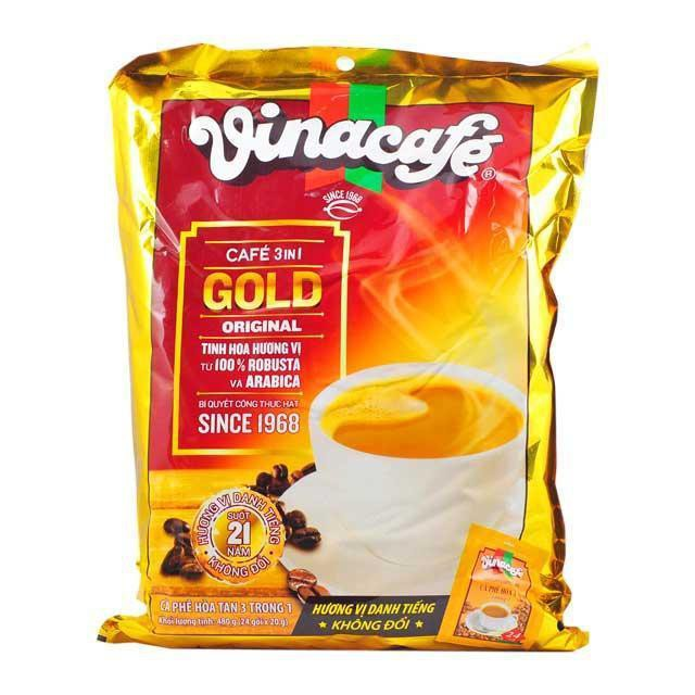 CAFE SỮA VINACAFE 3IN1 GOLD 480G.1
