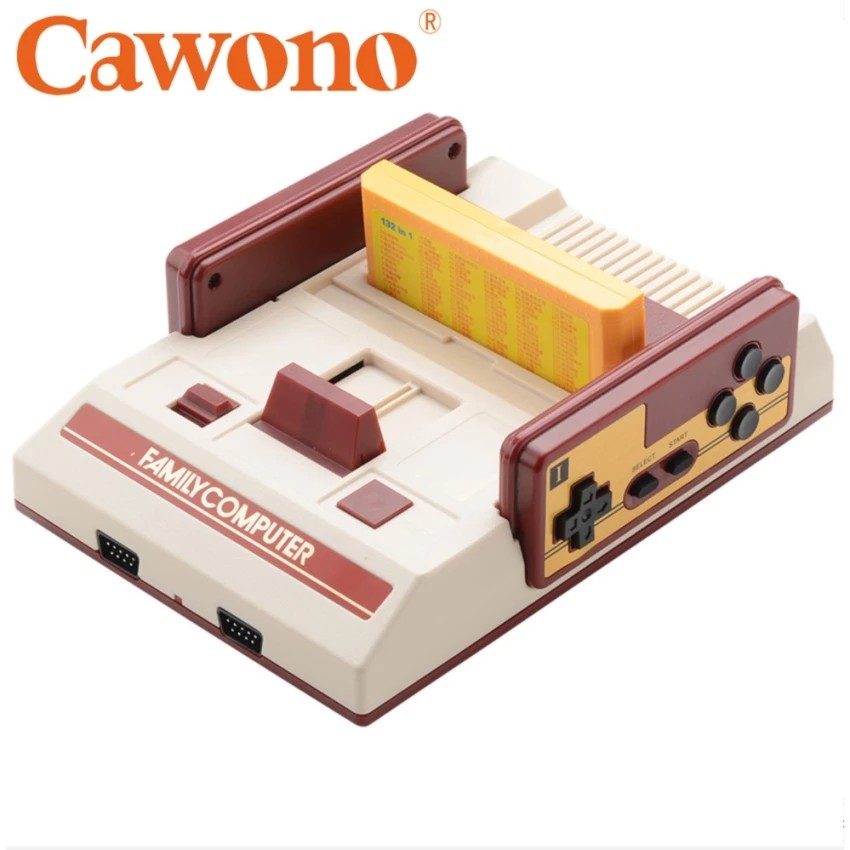Bộ máy chơi game điện tử 4 nút Cawono RS-37 chơi đươc trên TV Led và Băng game Contra