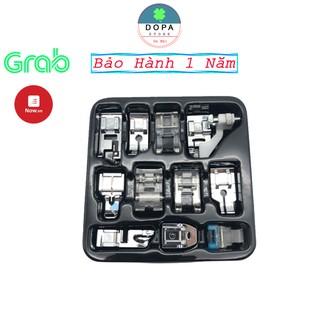 Combo 11 chân vịt máy may mini tiện dụng giúp bạn thực hiện nhiều kiểu may khác nhau thumbnail