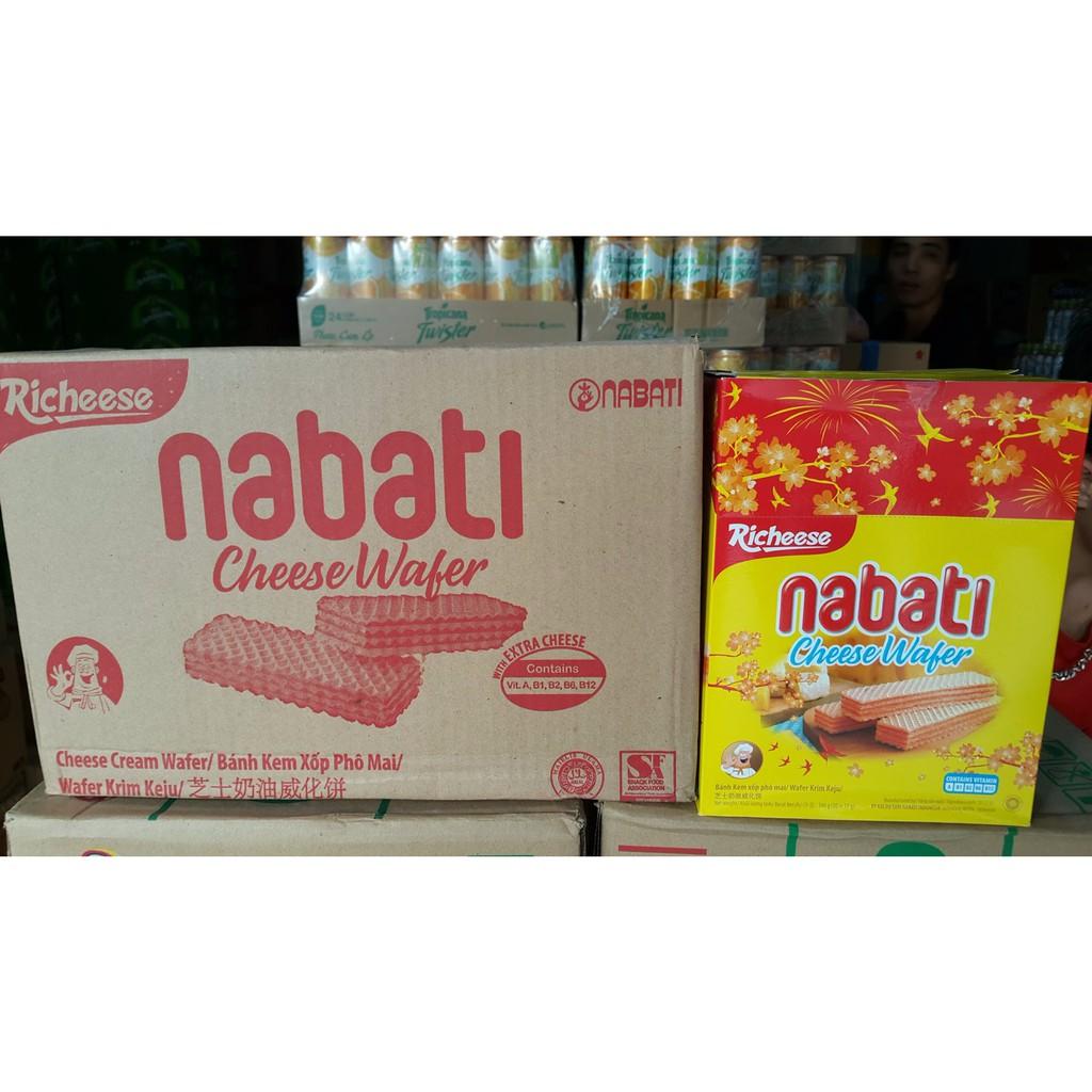 thùng 6 hộp Bánh xốp Nabati nhân kem phô mai Indonesia - 3062839 , 958240980 , 322_958240980 , 215000 , thung-6-hop-Banh-xop-Nabati-nhan-kem-pho-mai-Indonesia-322_958240980 , shopee.vn , thùng 6 hộp Bánh xốp Nabati nhân kem phô mai Indonesia