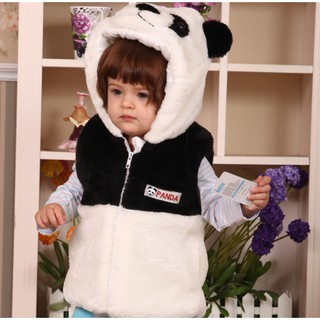 Áo khoác lông nhung Gấu Trúc AKE01