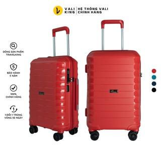 Vali kéo du lịch cao cấp TRAVELKING-885 kích thước 20, 24 inch chính hãng Hùng Phát - Bảo hành 5 năm thumbnail