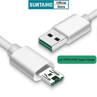 Dây Cáp Suntaiho 5A Cổng Micro USB Sạc Và Truyền Dữ Liệu Nhanh Cho VOOC OPPO R7S R9 R9S R11 R11S Plus R9sm R9sk Find 7