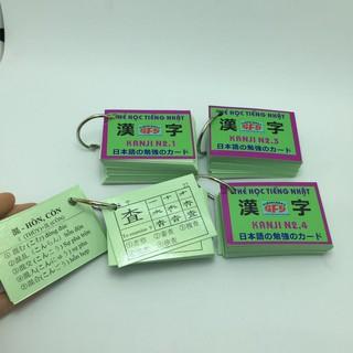[ FREE SHIP ] [Sỉ _100k] Bộ thẻ tiếng nhật kanji n2_khobuon thumbnail
